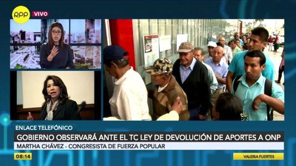 "martha-chavez-sobre-retiro-de-la-onp:-""probablemente-el-tribunal-constitucional-declare-inconstitucional-esta-ley"""