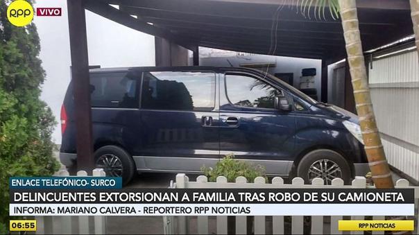 san-isidro:-mujer-sufre-el-robo-de-su-minivan-y-los-delincuentes-llaman-a-extorsionarla-[video]