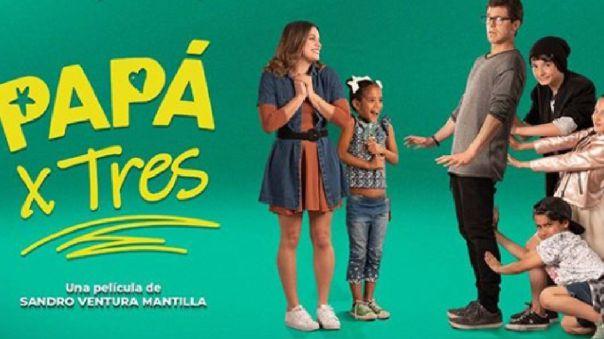 «papa-x-tres»:-pelicula-peruana-gana-el-premio-a-mejor-largometraje-de-comedia-en-los-unofex-awards