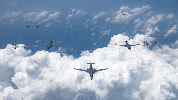 estados-unidos-y-corea-del-sur-iniciaron-maniobras-militares-conjuntas