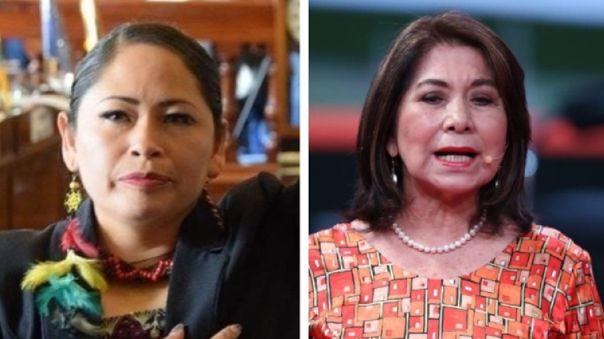 """senadora-boliviana-sobre-declaraciones-de-martha-chavez:-""""es-un-delito-penal-y-no-se-puede-solucionar-con-una-disculpa"""""""