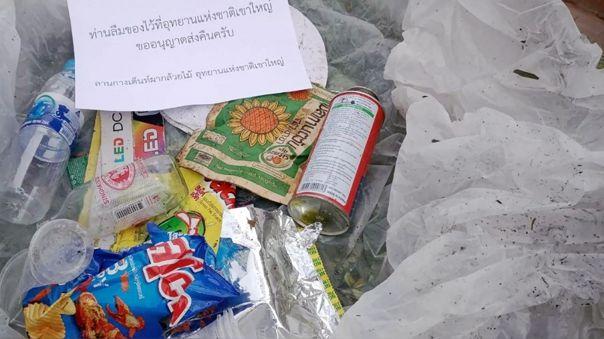 «no-toleraremos-este-comportamieno»:-tailandia-envia-a-casa-de-excursionistas-la-basura-que-tiraron-en-parque-natural