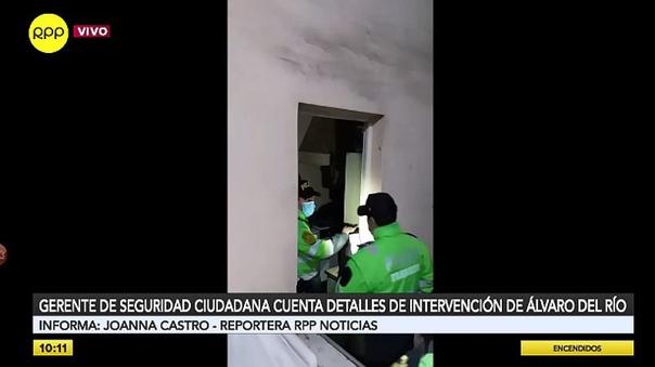 san-isidro:-sujeto-que-asesino-a-policia-fue-intervenido-por-romper-la-puerta-y-meterse-a-una-casa-[video]