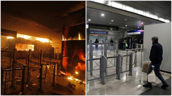 metro-de-santiago-reabre-sus-estaciones-casi-un-ano-despues-de-estallido-social-en-chile-[fotos]