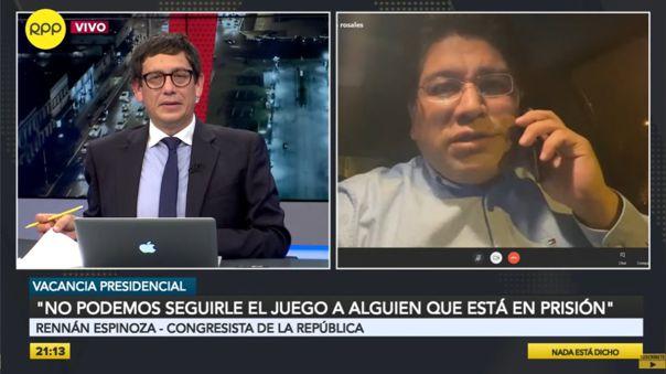 congresista-espinoza-pide-debatir-mocion-de-vacancia-el-domingo-y-no-seguirle-el-juego-a-antauro-humala