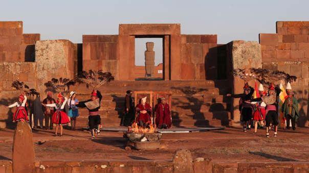 bolivia:-cinco-personas-fueron-arrestadas-por-danar-con-aceite-las-patrimoniales-ruinas-de-tiahuanaco